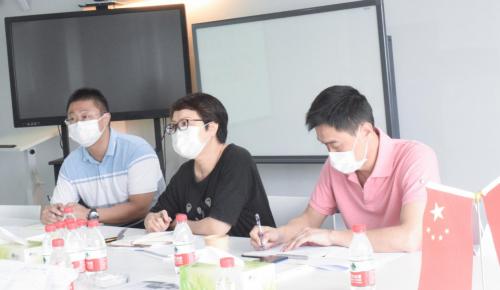 厦门市留学人员服务中心领导莅临丝柏科技参观调研