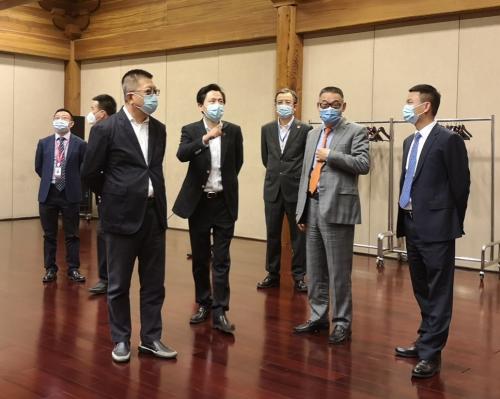 王金昌董事长一行拜会保利集团