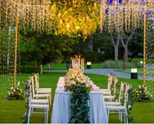 来三亚理文索菲特度假酒店举办一场海岛婚礼,给你地道的法式浪漫