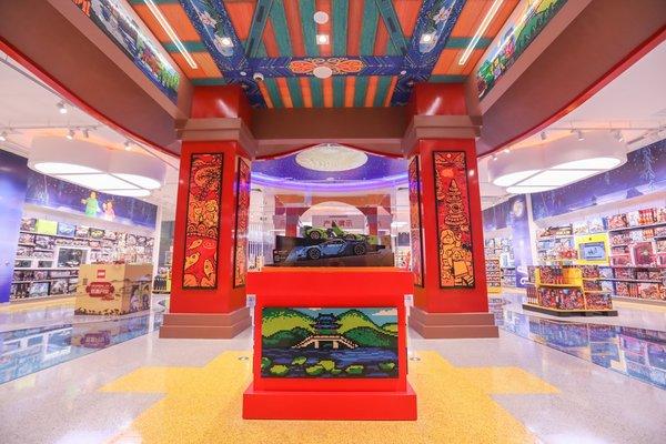 杭州全新乐高品牌旗舰店开业 以创意玩乐体验致敬当地传统文化
