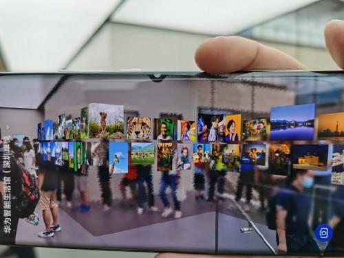 华为智能生活馆开业 AR创新体验带来超感知数字生活