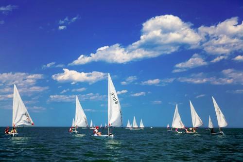 到远洋蔚蓝海岸和国家队一起玩海,扬帆启航的感觉酷毙了!