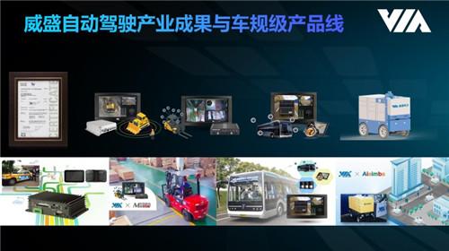 让自动驾驶上路,威盛智驾实验室展示L4级科研成果无人配送车