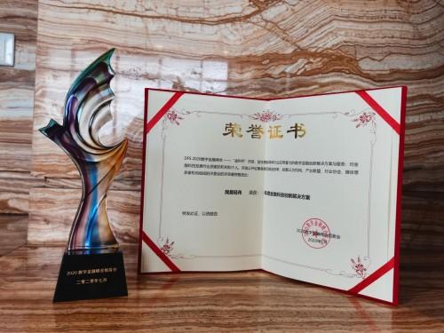 2020 DFS数字金融峰会金科杯揭晓 网易轻舟金融解决方案获奖