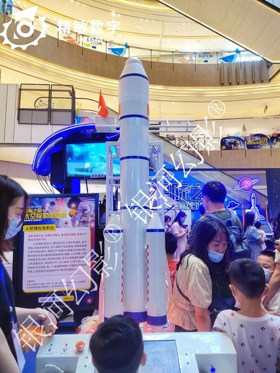 鄂尔多斯暑假去哪儿玩!家长都带孩子来这个VR航天航空体验展
