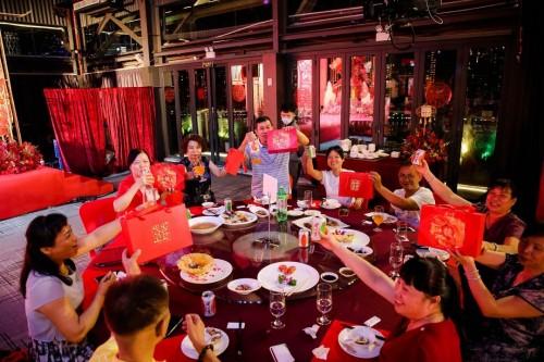 传统民俗遇上时尚潮流?健力宝打造完美国风幸福婚宴