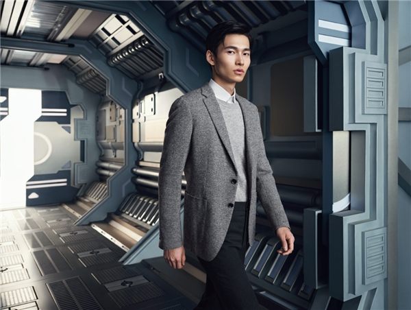 宝姿Ports 2020秋冬系列男装发布,开启一场太空之旅