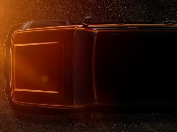 WEY越野SUV整车轮廓曝光 展现WEY品牌造型新趋势