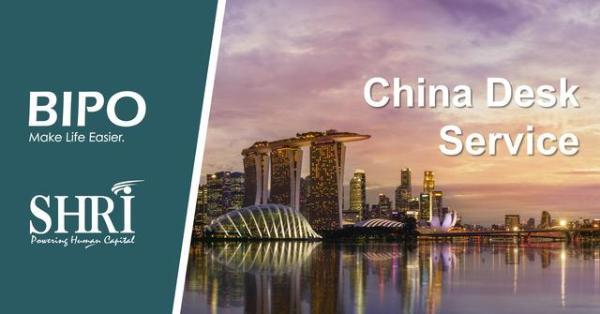 BIPO与SHRI打造China Desk人力资源服务项目