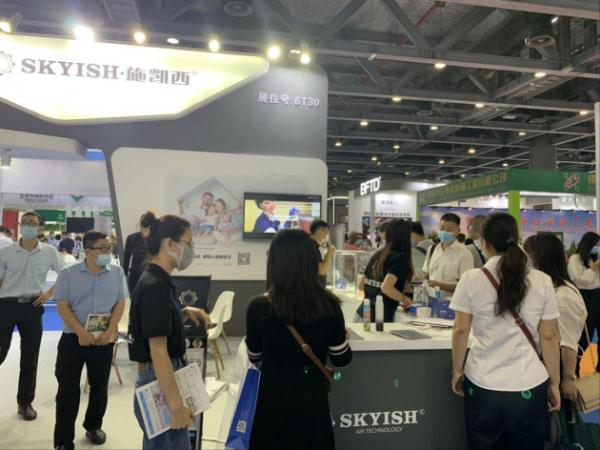 乘风破浪!SKYISH施凯西隆重亮相2020广州国际智慧物业博览会