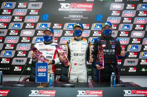 TCR China株洲站圆满落幕 吕威斩获赛季首胜 吴怡帆再夺大师杯