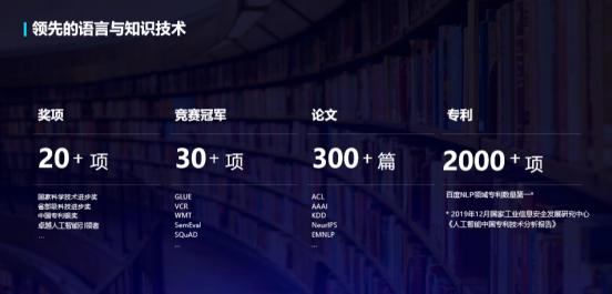 百度把握语言与知识技术和产业发展趋势!全新发布11项重磅