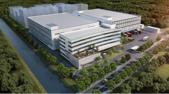 """三草两木建新工厂,总占地52276.7平方米,坐落上海""""东方美谷"""""""