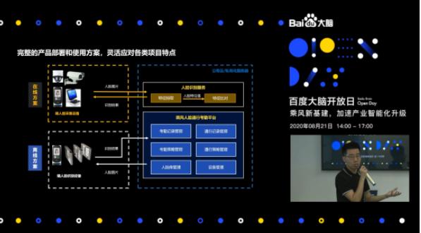 """百度大脑技术加持乘风人脸通行考勤平台 为企业管理智能化""""减负"""""""