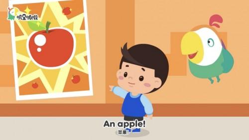 叽里呱啦专注研发趣味英语启蒙课程 让孩子喜欢英语
