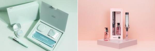 韩国人气卷发棒品牌 VODANA携手兰芝与魅尚萱,限量推出联名礼盒