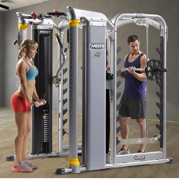 巍得推荐:企事业健身房or健身俱乐部设备如何选择?连总统都在用的HOIST豪斯特力量器械