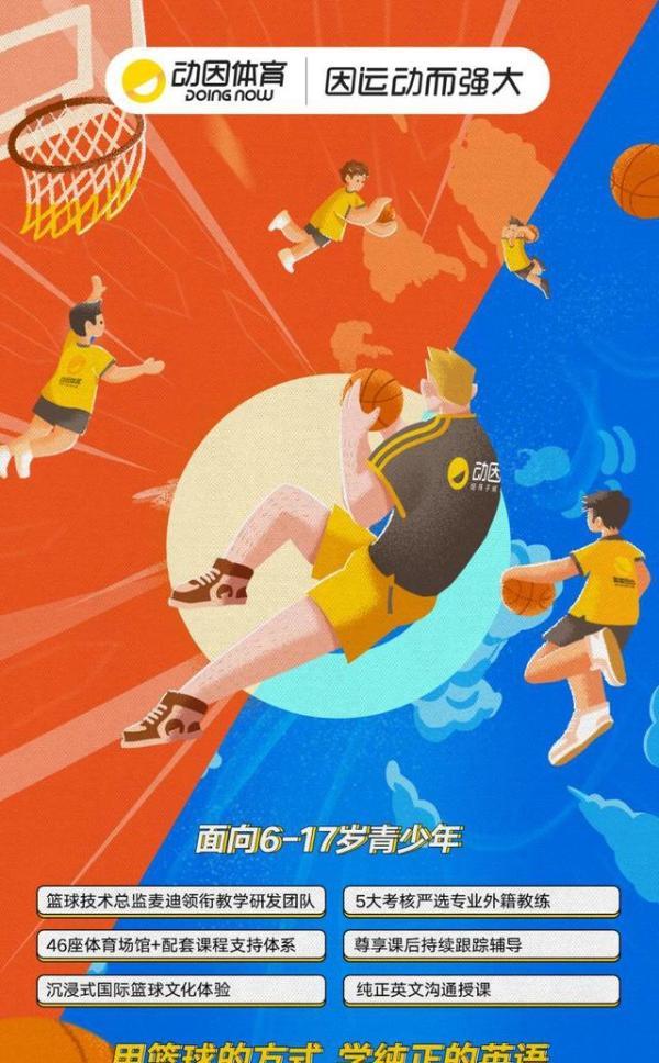 动因体育上线动因少儿外教篮球,多方面培养孩子综合能力发展
