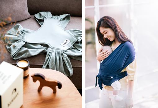 俘获全球宝妈芳心的时尚婴儿背带——Konny秒睡背带