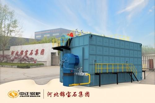 中正锅炉与锦宝石集团再次携手 助力年产80万吨包装装饰新材料项目