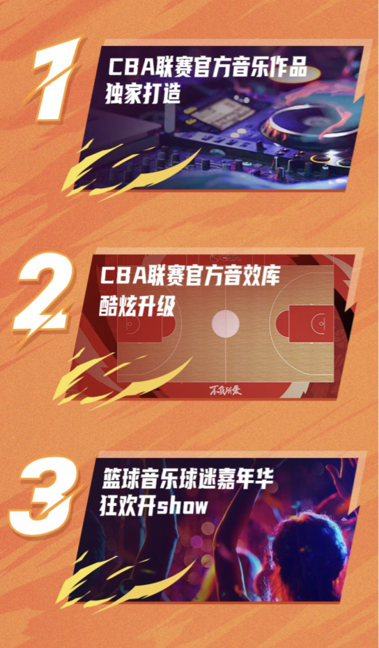 音乐x体育跨界融合,酷狗成为CBA联赛独家官方音乐平台