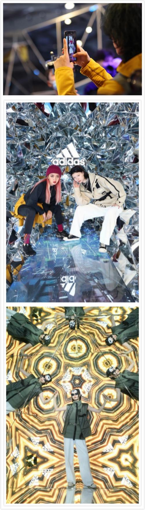 阿迪达斯正式发布冬季系列新品,打造线上线下羽绒不服冬日幻境
