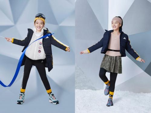 """应变冬日有""""益""""思 阿迪达斯发布冬季儿童新品 助力儿童玩转多变穿搭"""