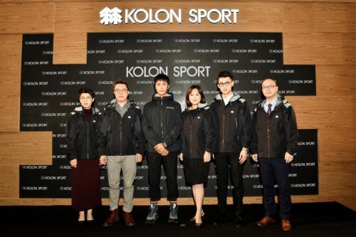 陈坤亮相KOLON SPORT 可隆发布会,尽显都市户外高品质