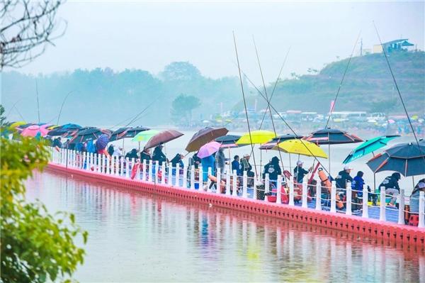 佳钓尼举办首届全国钓鱼人运动会,婺城再次成为全球焦点