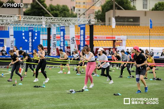 闪耀GYMSQUARE精练大会,麦瑞克领跑家庭健身时代