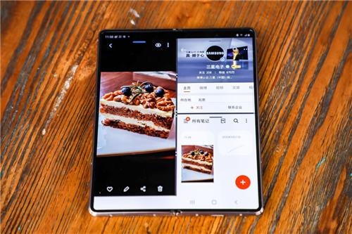 顶级屏幕加持,三星Galaxy Z Fold2 5G展现强悍视效