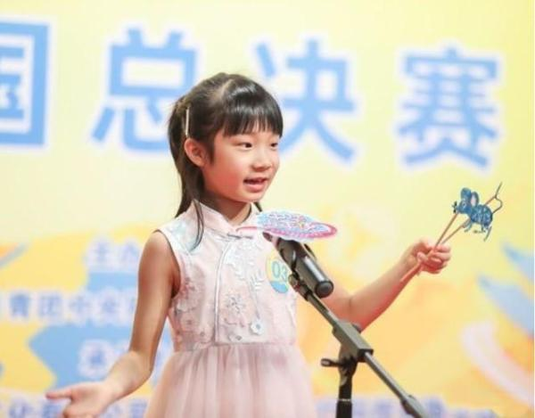 "51Talk小学员黎子琳又""出圈""了"