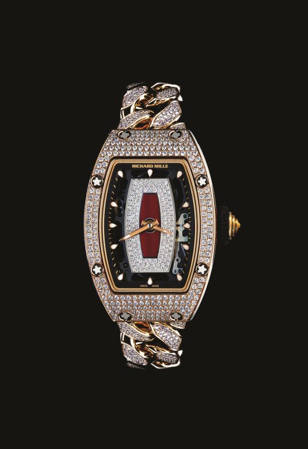 RICHARD MILLE里查德米尔不仅有腕表 还有链带