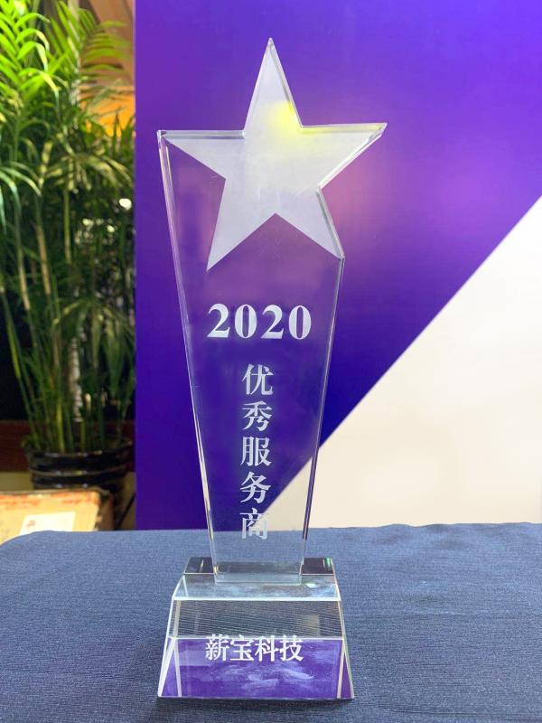 """薪宝科技参加第二届社区社群团购高峰论坛,并获""""2020优秀服务商""""荣誉"""