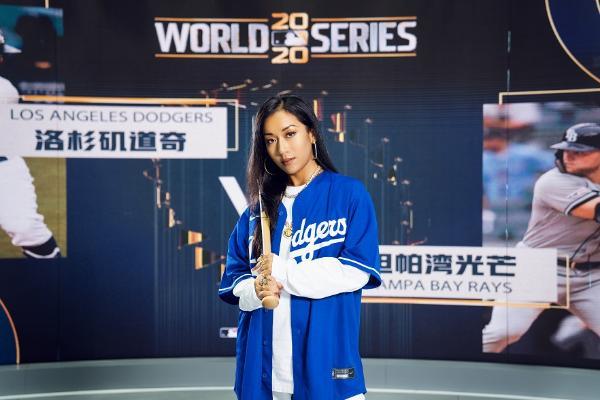 吉克隽逸空降MLB世界大赛G4直播间,化身神秘的东方力量