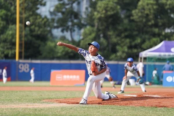 MLB First Pitch青少年棒球联赛深圳站收官,300棒球小将同场竞技