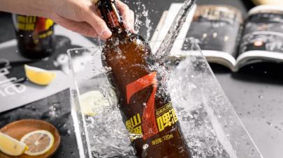 2周送出一万瓶,泰山原浆啤酒广东快闪店请你体验未知的鲜