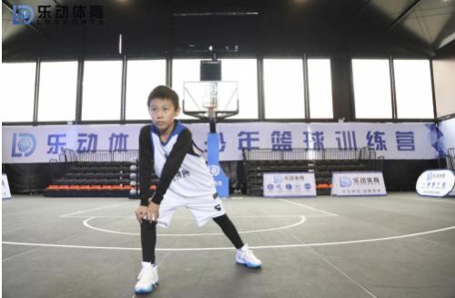 篮球学员们的体能训练,在乐动体育必不可少