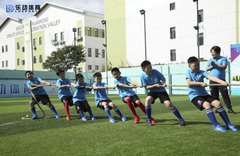 亲子训练课,乐动体育让孩子家长同进步