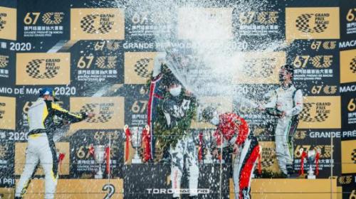 首征澳门格兰披治,TORO RACING叶弘历斩获澳门GT杯冠军