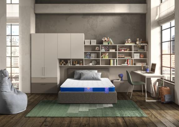 斯林百兰星空BLUE床垫专为青少年定制,改善青少年睡眠质量