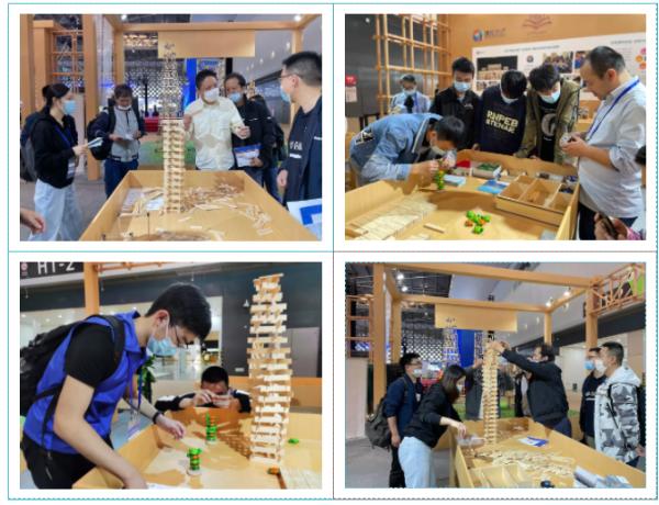 木片复刻上海地标 建构大师献礼浦东开发开放30周年