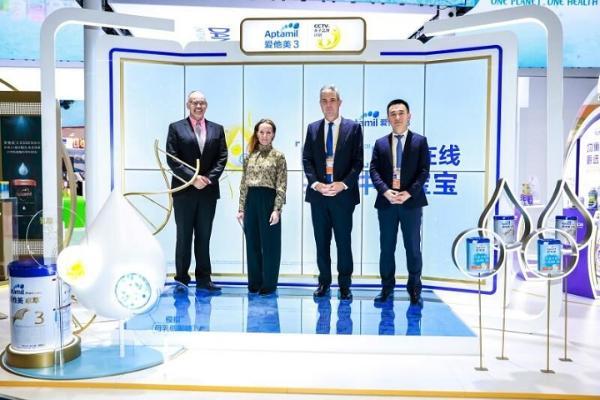 达能纽迪希亚全球首款妈妈益生菌产品亮相进博会 支持中国哺乳妈妈乳腺健康