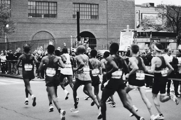 在每一次奔跑中,遇见更好的自己