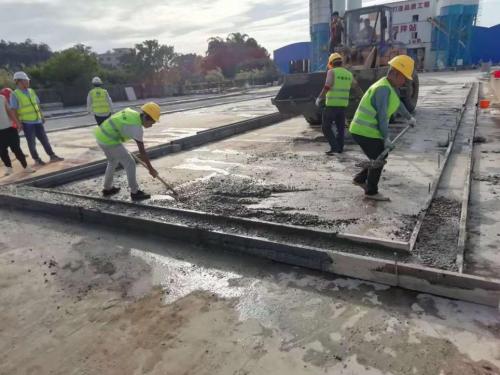 中建集团全力推进中,佛山市塘西大道南延线施工进展顺利!