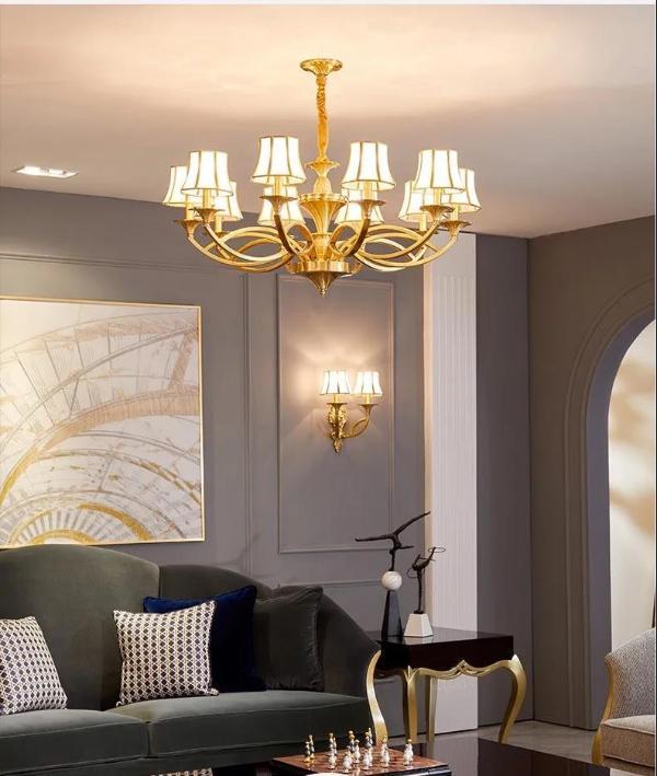 月影灯饰欧式铜灯的魅力,请你一起浪漫!