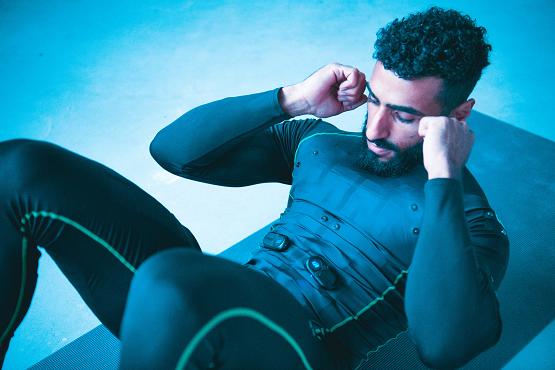 diPulse健身衣火遍全网,首创黑科技让你欲罢不能!