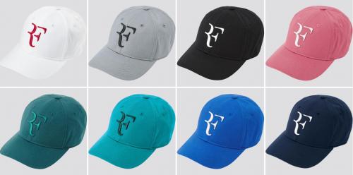 RF LOGO经典回归 优衣库携手罗杰·费德勒推出全新RF帽