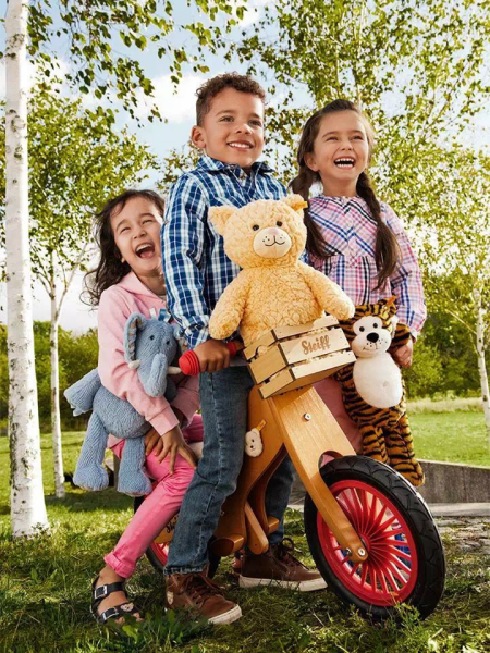 Steiff史戴芙坚持最高标准 只为带给孩子最温柔的呵护