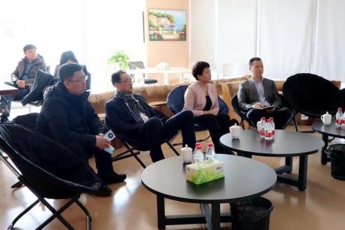 内蒙古呼和浩特市副市长徐睿霞一行莅临薪太软考察交流